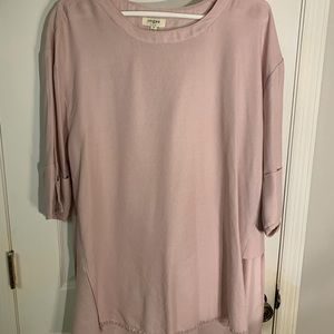 Boutique Umgee Pink Boxy Top S